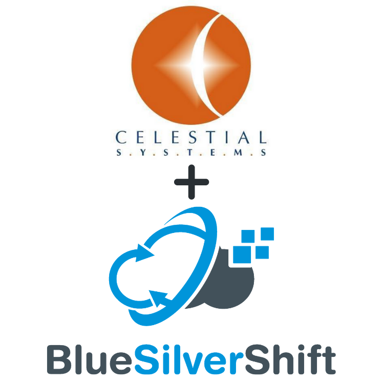 Invero and Celestial Systems Announce North America Wide Digital Innovation Partnership showing both logos.