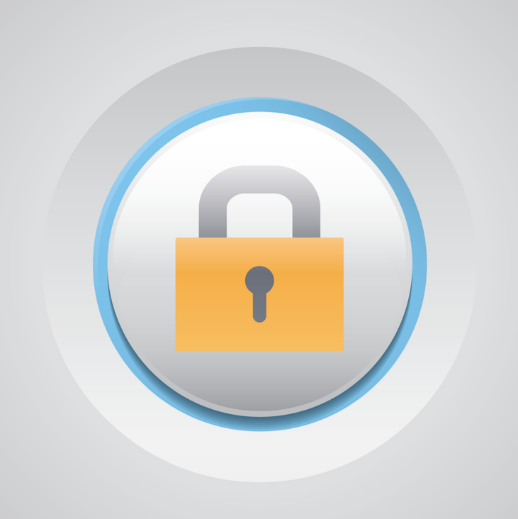 Keep those passwords secure, everyone! Password security icon.